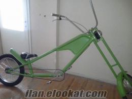 chopper bisiklet . türkiyede ilk.
