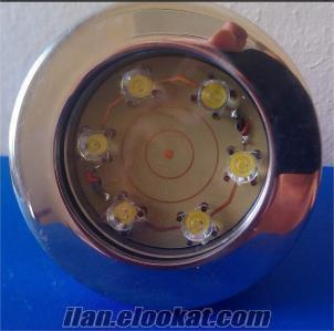 SUALTI 3X6W LED AYDINLATMA 15-45-60-90 DERECE