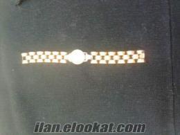 antika kol saati altın Nacar 17 rubis isveç yapımı