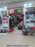 Devren satılık çanta dükkan