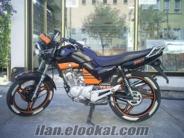2007 model ybr 125 full modifiyeli siyah