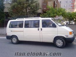 satılık 1998 model 2.4 transporter minibüs 16500tl