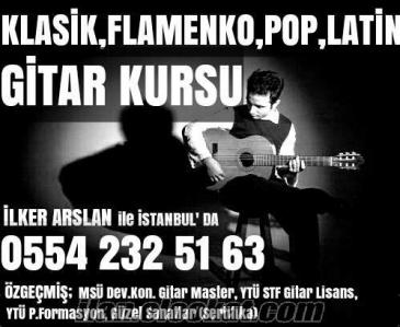 GİTAR VİRTÜÖZÜNDEN GİTAR DERSİ & CV; Mimar Sinan Ün.Gitar Master, Kadıköy