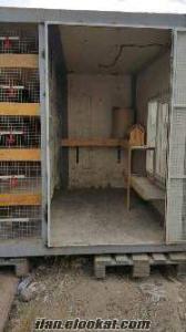 satılık yalıtımlı kendi üretimim kafes