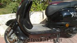 Hasarlı Asya 125 T Motorsiklet