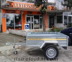 Oto romork araba romorku trailer remok imalat