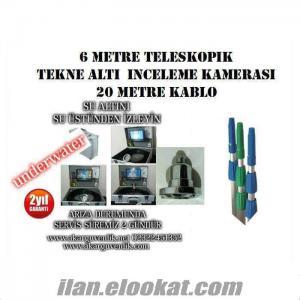 TEKNE ALTI İNCELEME KAMERA TV 6 METRE TELESKOPİK