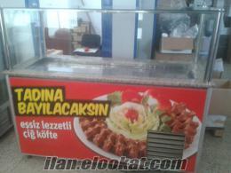 istanbul ümraniye de ikinci el satılık çiğ köfte tezgahları