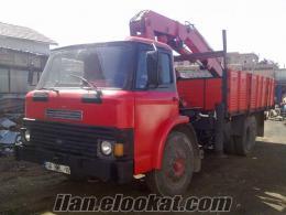 satılık vinç 8 tonluk ford 1210 temiz muayeneli (2012)
