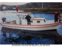 Bodrumdan Sahibinden Satılık Balıkçı Teknesi