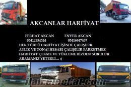 İstanbul Bahçelievler kiralık damperli kamyon