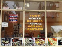 Denizlide devren satılık tost köfte börek salonu