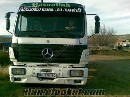 mercedes 2521 96model kısa damper harfiyat kamyonu