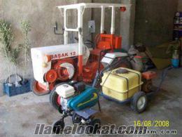 Her türlü mini traktör romorklar bahçe traktörü ve ekıpmanları bulunur su motorl