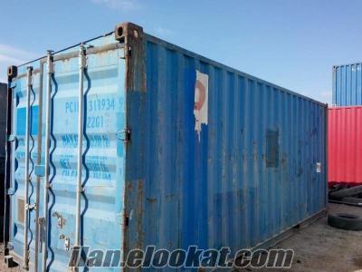 satılık 20lik yük konteynerleri