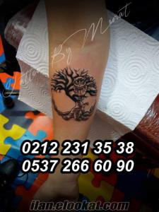 İstanbulda Dövme salonu Tattoo Murat Profesyonel Dövmeci Şişli