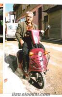 Satlık akülü motorsiklet 3 tekerlekli