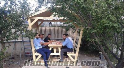 kamelyalı piknik masa