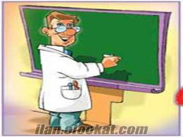 Kimya Matematik Geometri Özel Ders Verilir İngilizce Fen Dersleri Verilir