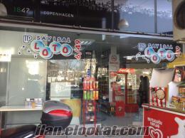 Bursa beşevler caddesinde sayısal lotolu devren satılık tekel bayii