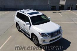 2013 Lexus LX 570 4WD 4DR SUV Jeep Tam Opsiyonlar Satılık