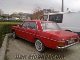 MERCEDES 200E W115 KASA 1974 MODEL KILASİK
