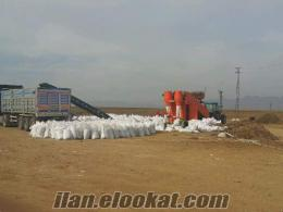 Mısır Silajı ve Pancar Posası Paketleme Makinası ile Paketleme