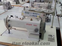 2.el paff elektronik düz makine