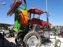 Ereğlide ilaçlama traktörü