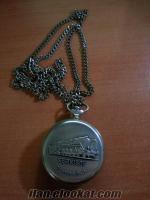 Satılık marka serkisof 18 jewels 3602 arka kabartma baskılı cep saati