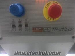 İstanbulda iki kafalı TEM süblime baskı presi 150cm x 100cm 2. el press pires