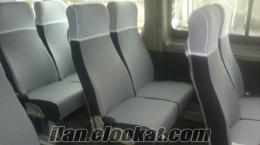 minibüs koltuk kılıfı sprınter, karsan, bmc, jest