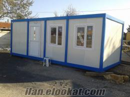3x7 mt KONTEYNER MUTFAK+BANYO+WC+LAVABO TERMO SİSTEM PASLANMAZLIK GARANTİLİ