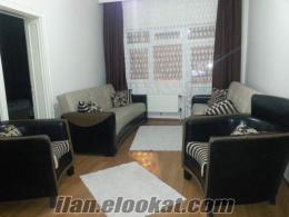 Ankara küçükesatta mobilyalı kiralık daire.