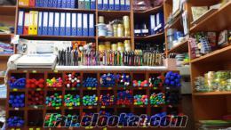 komple kırtasiye dükkanı malzemeleri
