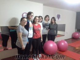 Pilates mat grup dersleri