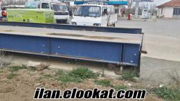 satılık 2.el 60 tonluk 8m. kamyon kantarı