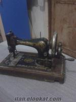 Kandırada dikiş makinası