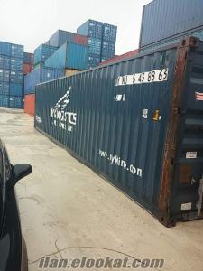 satılık konteyner sıfır ikinci el ot hc dc modifiyeli boyalı