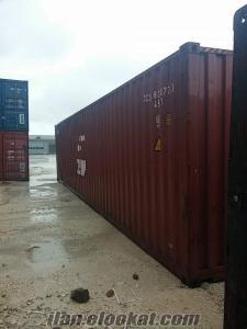 satıkık konteyner yük depolama lojistik konteynerleri
