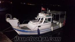 bodrum türkbükünden satılık balıkçı teknesi