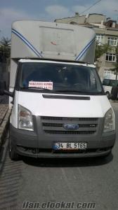 İstanbul Sahibinden 2008 350 M Ford Transit Kamyonetimle Kiralık İş arıyorum