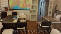 Antalya Lara Fenerde Kiralık Hazır Ofis Büro 1+1 işyeri