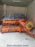 satlık paksan balya makinesi ve traktör