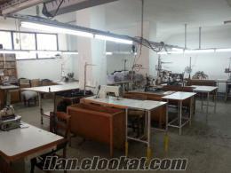 Satılık Devren Tekstil (İç Giyim) Atölye