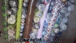 Toptan ucuz parti malı kumaş satımı