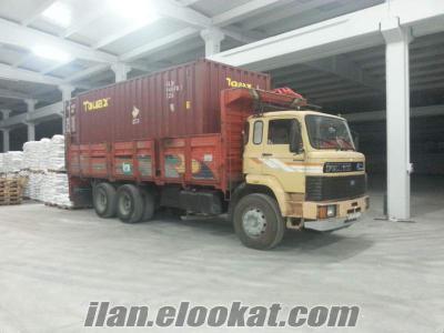 antalyada gunluk aylik yillik kiralik on teker kamyon