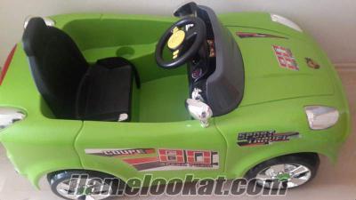 Satılık akülü çocuk arabası
