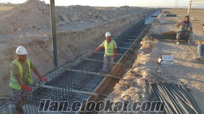Türkiye içi öncü inşaat firmasına kalıpçı ustası aranıyor