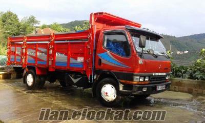 sahibinden çok temiz mıtsubishi uzun şase FE 659 1998 model kamyon